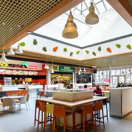 Auchan Food Court – Debrecen